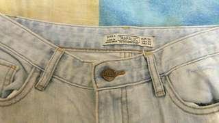 Zara Semi-Torn Jeans