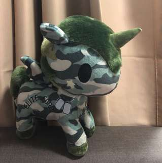 (For sharing only) - Tokidoki Unicorn Elite Corp Sgt Rumble Special Edition Plush