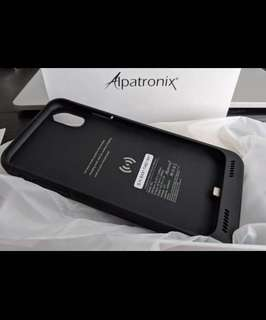 Battery Case for iPhone X - Black | Alpatronix