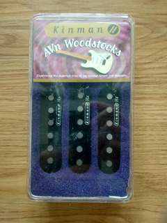 Kinman Strat Woodstock Regular Pickup Set
