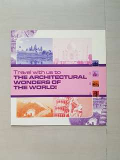 The Architectural Wonders of the World Transitlink Cards