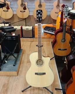 Gitar Cort E/Akustik GA FF- Nat( Kredit )