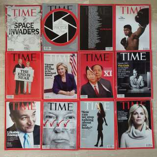 Time magazine past issues