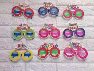 Happy Birthday Glasses