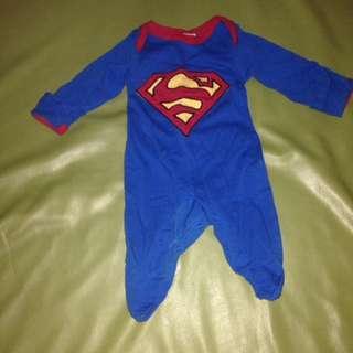 Preloved superman onesie