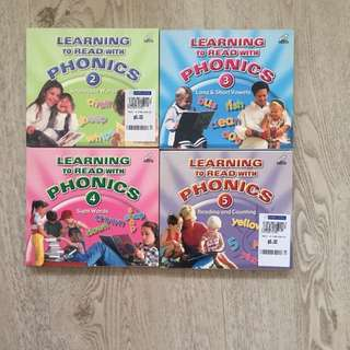 Learning to read with phonics