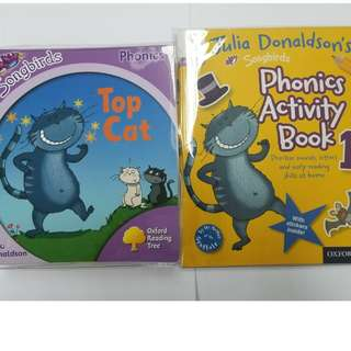 Songbirds Phonics Collection – 36 Books + Activity Books - 8 books