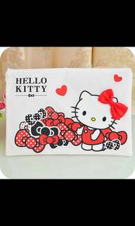 Hello Kitty A4 Pouch with Zip