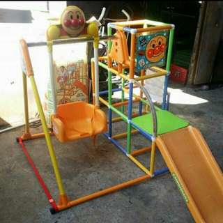 Anpanman swing slide and crawl