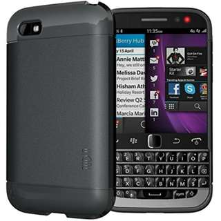 TUDIA LITE TPU Bumper Protective Case for BlackBerry Classic Smartphone (2014 Released) (Black)