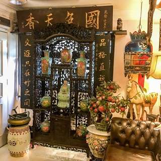 Antique Ching Signboard