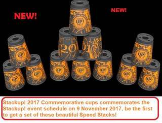 Speed Stacks Stackup! 2017 Commerative