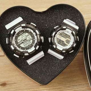 G-SHOCK and BABY G-SHOCK couple watch