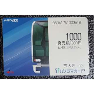 (F02) 日本 火車 地鐵 車票 MTR TRAIN TICKET, $10