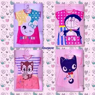 Pajama Duster - Sleepwear - Pambahay/Pantulog