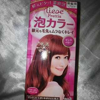 Liese bubble hair dye