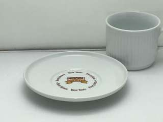 Nescafe De Luxe Cup & Saucer Set