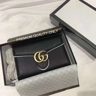 Gucci Marmont chain bag- black