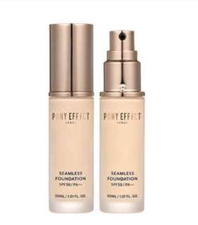 Pony effect seamless foundation SPF30/PA +++