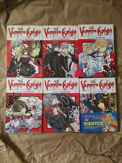 Vampire Knight Manga Comics