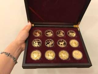 十二生肖收藏紀念幣