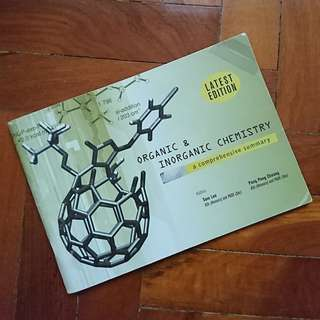 A Level Organic And Inorganic Chemistry Mini Guide/ Summary Book