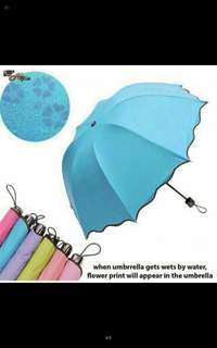 Magic Flowering Umbrella