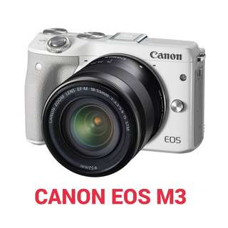 Kredit Kamera Canon Eos M3 kit 15-45 mm acc 3mnt ready Laptop PS4 HP