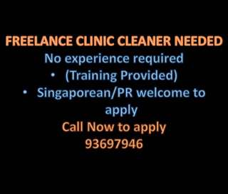 Needed floater clinic cleaner