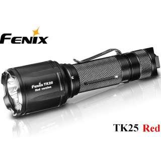 {MPower} Fenix TK25 Red 美國名廠 CREE XP-G2 S3 LED 1000 流明 Flashlight 電筒 ( 白光, 紅光 ) - 原裝行貨