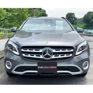 New Mercedes-Benz GLA180 facelift @ $144,800 only