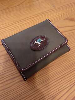 Genuine kangaroo leather wallet