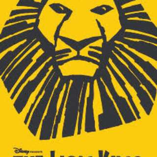 Lion King, May 19, 8PM // Balcony JJ 36