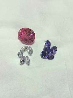 Crystal and Cubic Zirconia