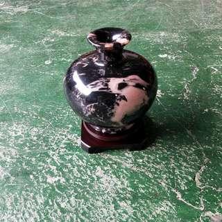 合運二手傢俱~石製花瓶藝品A01355