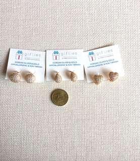 2way style: Huggies Earrings (3 designs)