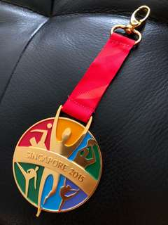 28th Singapore SEA Games 2015 gold medal