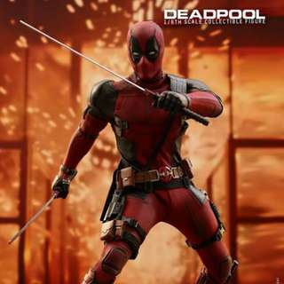 Hot Toys MMS490 - Deadpool 2 - 1/6 scale Deadpool Action Figure PreOrder