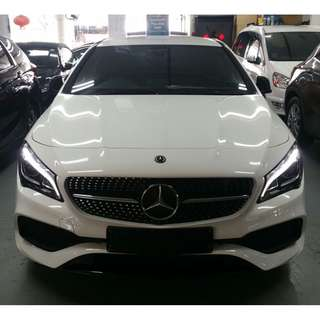 Mercedes-Benz CLA-Class CLA180 AMG Line facelift @ $145,800 only