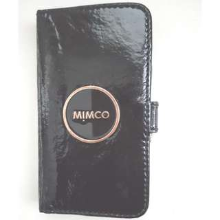 Mimco iPhone 6/7 Phone/Card Case (Black/Rose gold)