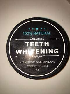 Charcoal Teeth Whitening x2