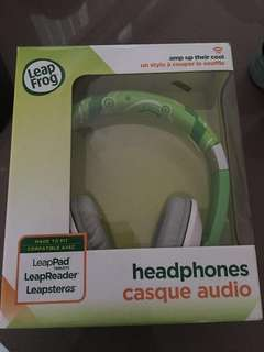 Leap frog headphone
