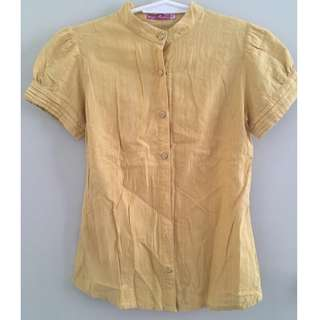 Shapes Yellow Blouse