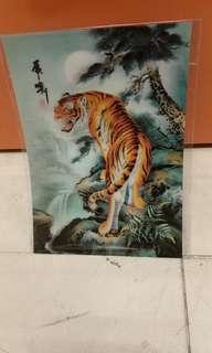 塑膠材料,画,25x35cm