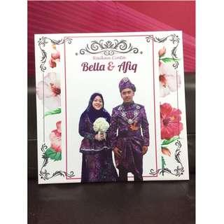 SIGNAGE ART CANVAS FOR WEDDING
