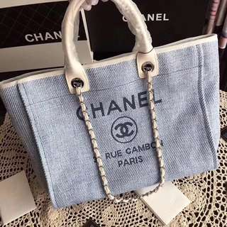 Chanel deauville tote 2017