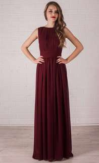 Red/Cranberry Gown