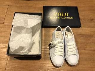 POLO RALPH LAUREN white shoes size 6, UNISEX