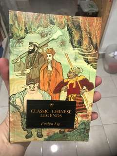 Classic Chinese Legends Book