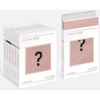 Wanna One Special Album  1÷χ=1 (UNDIVIDED)